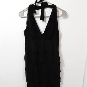 Intrigue LBD With Ruffles